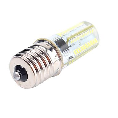 5W 450lm BA15d E17 E12 LED-maissilamput T 80 LED-helmet SMD 3014 Himmennettävissä Koristeltu Lämmin valkoinen Kylmä valkoinen 110-130V