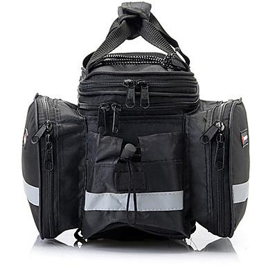 Kerékpáros táskaTúratáska csomagtartóra/Kétoldalas túratáska Fényvisszaverő csík Vízálló Fényvisszaverő Viselhető Ütésálló Telefon/Iphone