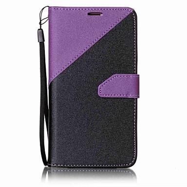 Kılıf Na Samsung Galaxy J7 (2016) J5 (2016) Portfel Etui na karty Z podpórką Futerał Solid Color Twarde Sztuczna skóra na J7 (2016) J7 J5