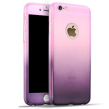 Käyttötarkoitus iPhone 8 iPhone 8 Plus iPhone 7 iPhone 7 Plus iPhone 6 kotelot kuoret Iskunkestävä Takakuori Etui Color Gradient Kova PC
