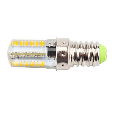 450 lm E14 Żarówki LED kukurydza T 80 Diody lED SMD 3014 Przysłonięcia Dekoracyjna Ciepła biel Zimna biel AC 220-240V AC 110-130V