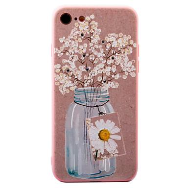 Για Στρας / Με σχέδια tok Πίσω Κάλυμμα tok Λουλούδι Σκληρή Ακρυλικό για AppleiPhone 7 Plus / iPhone 7 / iPhone 6s Plus/6 Plus / iPhone
