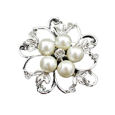 Γυναικεία Καρφίτσες Μαργαριτάρι απομίμηση διαμαντιών Κοσμήματα Γάμου Πάρτι Καθημερινά Causal