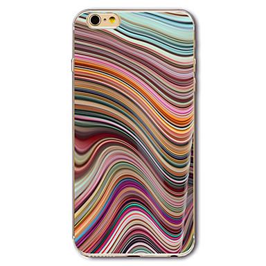 Etui Käyttötarkoitus Apple iPhone 7 iPhone 7 Plus iPhone 6 Kuvio Takakuori Marble Pehmeä TPU varten iPhone 7 Plus iPhone 7 iPhone 6s Plus