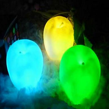 1 szt. Noc LED Light Mały rozmiar Zmieniająca Kolor Artystyczny Modern / Contemporary