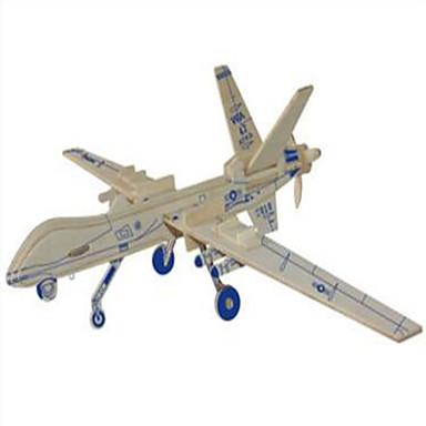 παζλ Ξύλινα παζλ Δομικά στοιχεία DIY παιχνίδια Σφαίρα / Fighter 1 Ξύλο Κρύσταλλο Μοντελισμός & Κατασκευές