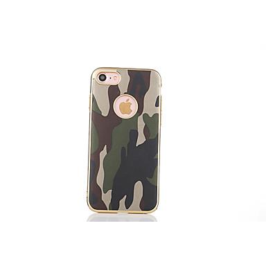 Varten Pinnoitus Etui Takakuori Etui Armeijatyyli Pehmeä TPU varten Apple iPhone 7 Plus / iPhone 7 / iPhone 6s Plus/6 Plus / iPhone 6s/6