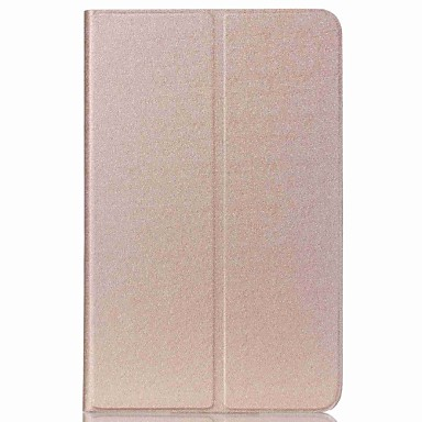 Kılıf Na Samsung Galaxy Tab 9.7 Tab 8,0 Tab S2 9.7 Tab S2 8.0 Z podpórką Auto uśpienie / włączenie Ultra cienkie Pełne etui Solid Color