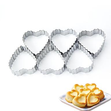 μπορεί να δέκατη πέμπτη καρδιά μούχλας για μέταλλο μπισκότων / γενέθλια / νέο έτος / diy