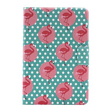غطاء من أجل Apple آي باد ميني 4 باد البسيطة 3/2/1 حامل البطاقات أورجامي غطاء خلفي حيوان قاسي جلد PU إلى iPad Mini 4 iPad Mini 3/2/1 Apple