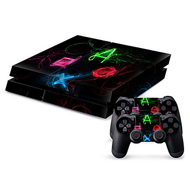 cheap PS4 Accessories-B-SKIN Sticker For PS4 ,  Sticker PVC 1 pcs unit