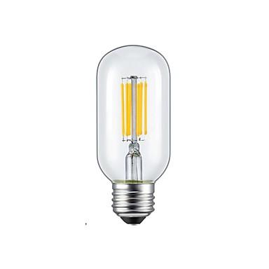 1szt 5W 2300/6000 lm E26/E27 Żarówka dekoracyjna LED 6 Diody lED COB Ciepła biel Zimna biel AC 85-265V