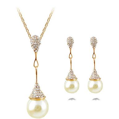 Γυναικεία Κρεμαστό Σχήμα Πολυτέλεια Κρεμαστό κόσμημα Κοσμήματα με στυλ Σετ Κοσμημάτων Κολιέ / Σκουλαρίκια Κολιέ Δήλωση Απομίμηση