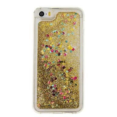 Mert Folyékony / Minta Case Hátlap Case Szív Puha TPU mert AppleiPhone 7 Plus / iPhone 7 / iPhone 6s Plus/6 Plus / iPhone 6s/6 / iPhone