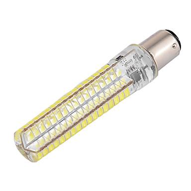 abordables Bombillas LED-ywxlight® dimmable ba15d 10w 900lm 136led 5730smd silicona blanco frío blanco led luces de maíz ac 110-130v ac 220-240v