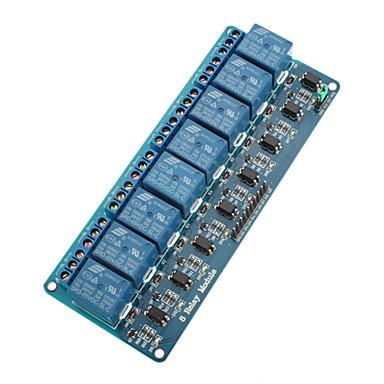 (Arduino için) 8-kanallı 5v röle modülü kurulu (arduino) panoları için (resmi ile çalışır)
