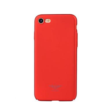 Varten Pinnoitus Etui Takakuori Etui Yksivärinen Kova PC varten Apple iPhone 7 Plus / iPhone 7