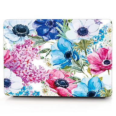 MacBook Futerał / Laptop sprawach na Kwiaty Plastikowy MacBook Air 13 cali / MacBook Pro 13 cali / MacBook Air 11 cali
