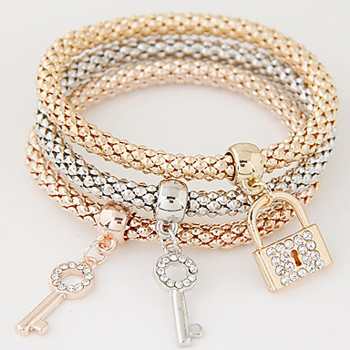 51a7078d4 cheap Tennis Bracelets-Women's Charm Bracelet Layered Stack Stacking  Stackable Friendship. Women's ...