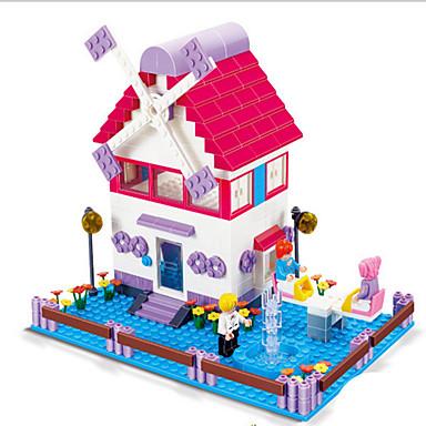 Zabawy w odgrywanie ról Klocki Wiatraki Samochodziki do zabawy Zabawki Wiatrak Transformable Dla dziewczynek Sztuk