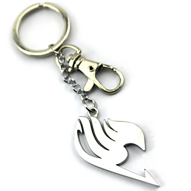 Więcej akcesoriów Zainspirowany przez Fairy Tail Lucy Heartfilia Anime Akcesoria do Cosplay Łańcuszek do kluczy Stop