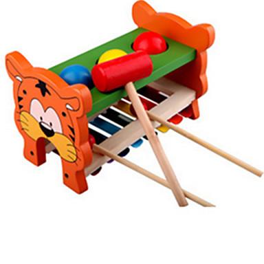 Zabawka edukacyjna Drewno Tęczowy zabawki muzyczne