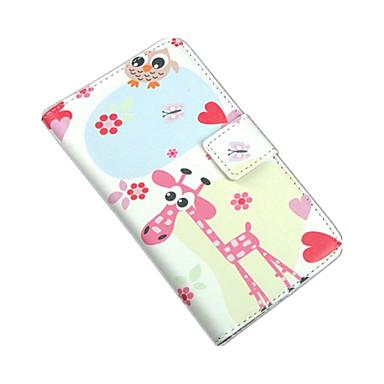 Para Capinha Nokia Carteira / Porta-Cartão / Com Suporte Capinha Corpo Inteiro Capinha Desenho Rígida Couro PU Nokia Nokia Lumia 625