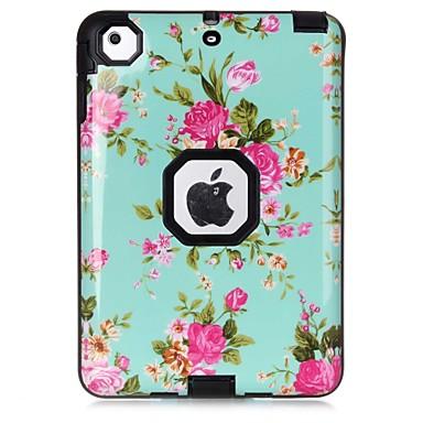 Maska Pentru Apple iPad Mini 3/2/1 Anti Șoc Model Carcasă Telefon Floare Greu TPU pentru iPad Mini 3/2/1 Apple