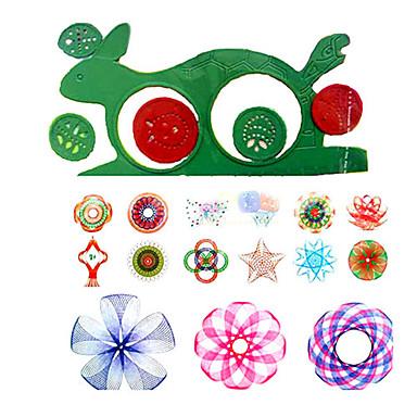 Çizim Oyuncağı Oyuncak Çizim Tabletleri Spirograph Oyuncaklar Eğlence Plastik Parçalar Çocuklar için Hediye