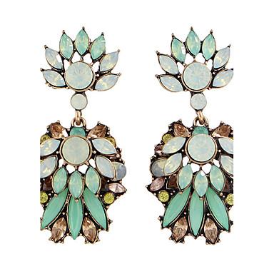 Kolczyki wiszące Stop Green Biżuteria Na Casual 1 para