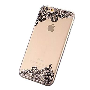 belo estojo rendas TPU para 6s iPhone 6 Plus