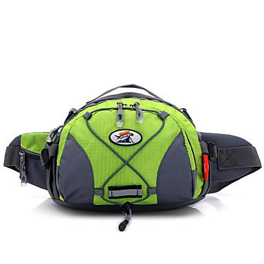 5 L Bel Çantaları Kamp & Yürüyüş Balıkçılık Seyahat Çok Fonksiyonlu Naylon