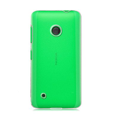 tok Για Nokia Διαφανής Πίσω Κάλυμμα Συμπαγές Χρώμα Σκληρή PC για Nokia Lumia 530