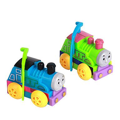 Zabawka nakręcana Zabawki Zabawne Tren Plastikowy 1 Sztuk Dla chłopców Dla dziewczynek Boże Narodzenie Urodziny Dzień Dziecka Prezent