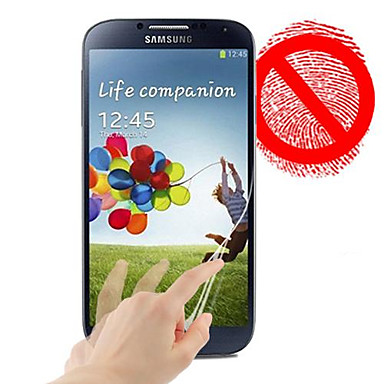 Screenprotector voor Samsung Galaxy S4 PET Voorkant screenprotector Mat