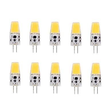G4 LED Λάμπες Καλαμπόκι T 1 LEDs COB Θερμό Λευκό 220-240lm 3000-3500