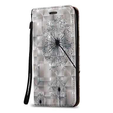Maska Pentru Samsung Galaxy J7 (2016) J5 (2016) Titluar Card Portofel Întoarce Carcasă Telefon Păpădie Greu PU piele pentru On 5 J7