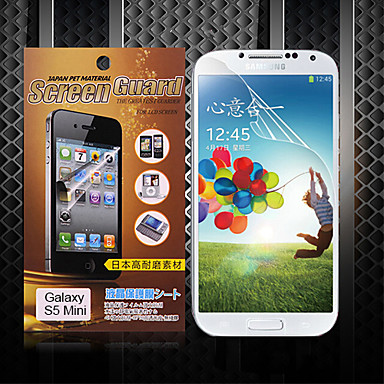 Screenprotector voor Samsung Galaxy S5 Mini PET Voorkant screenprotector High-Definition (HD)