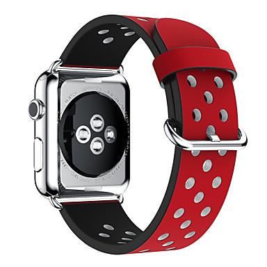 حزام إلى Apple Watch Series 3 / 2 / 1 Apple بكلة كلاسيكية جلد طبيعي شريط المعصم