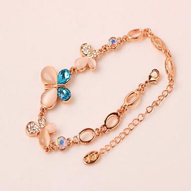 نساء أساور السلسلة والوصلة الصداقة سبيكة مجوهرات مجوهرات من أجل يوميا فضفاض