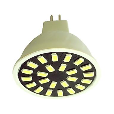 240-280 lm GU5.3(MR16) Spoturi LED G50 24LED led-uri SMD 5733 Alb Cald Alb Rece AC110 AC220 AC 220-240V