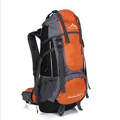 55 L sırt çantası Bisiklet Sırt Çantası Sırt Çantası Paketleri Kamp & Yürüyüş Tırmanma Serbest Sporlar Bisiklete biniciliği / Bisiklet Su