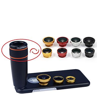 Lens Lens with Case Metal iPhone 8 Plus / 7 Plus / 6S Plus / 6 Plus