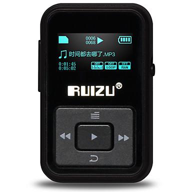 ruizu mp3 MP3 / WMA / WAV / FLAC / maimuță baterie reîncărcabilă Li-ion