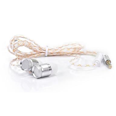 JKR JKR-301 سماعات فتحة الأذن (داخل فتحة الأذن)Forمشغل وسائل الاعلام / لوحي / الهاتف المحمول / الكمبيوترWithمع ميكريفون / DJ / التحكم في