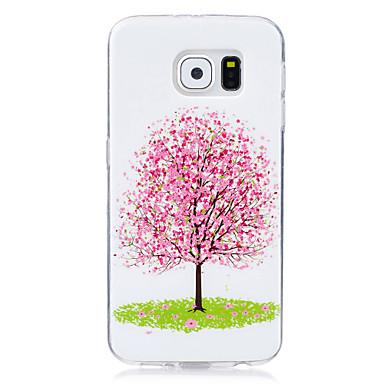 tok Για Samsung Galaxy Λάμπει στο σκοτάδι IMD Με σχέδια Πίσω Κάλυμμα Δέντρο Μαλακή TPU για S7 edge S7 S6 edge S6 S5