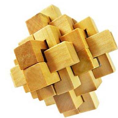 Drewniane puzzle Gry logiczne Układanka Kong Ming Zabawki Zabawki Test na inteligencję Drewniany Dla dziewczynek Dla chłopców Sztuk