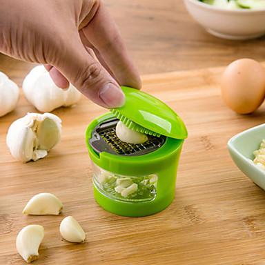 economico Utensili per frutta e verdura-aglio chopper in acciaio inox pressa di aglio zenzero schiacciatrice taglierina aglio