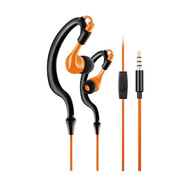 Zonoki KM-R02 Fülben Fülkampó Vezetékes Fejhallgatók Dinamikus Műanyag Sport & Fitness Fülhallgató Mikrofonnal Fejhallgató