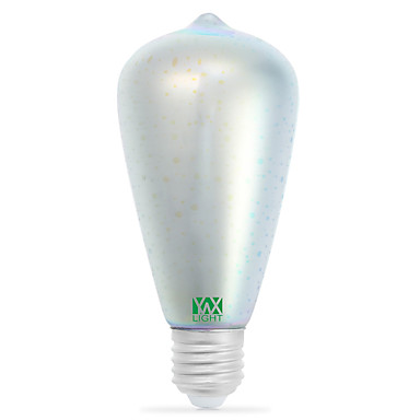 YWXLIGHT® 400-500lm E26 / E27 مصابيح كروية LED 48 الخرز LED COB ديكور برتقالي بنفسجي خمري زهري أخضر أصفر أزرق أحمر 85-265V